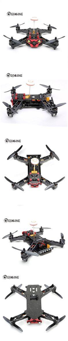 Eachine Racer 250 FPV Drone w/ Eachine I6 2.4G 6CH Transmitter 7 Inch 32CH Monitor HD Camera RTF Sale-Banggood.com