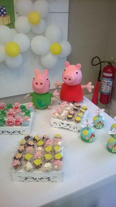 Mesa de doces Peppa Pig