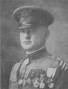 Nelson Holderman was an officer in the US Army notable for commanding a company of the Lost Battalion during WWI for which he received the Medal of Honor. Capt Holderman's  company was cut off and surrounded by the enemy. He was wounded 3 times but continued to lead and encourage the officers and men under his command with unflinching courage and with distinguished success. On 6 Oct in a wounded condition, he rushed through machinegun and shell fire and carried 2 wounded men to safety.