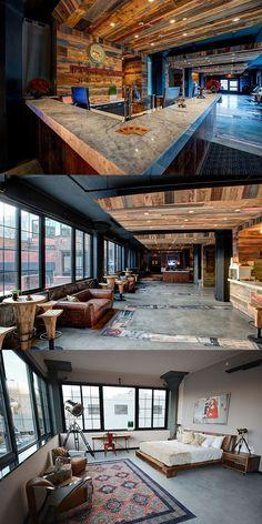 Paper Factory Hotel. Long Island City, Queens.