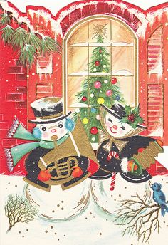 Vintage trims and buttons garland and christmas decoration Old Time Christmas, Christmas Card Images, Vintage Christmas Images, Christmas Graphics, Old Fashioned Christmas, Retro Christmas, Vintage Holiday, Christmas Greeting Cards, Christmas Pictures