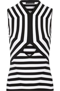 ALEXANDER WANG Cutout stretch cotton-blend top £217.50 http://www.theoutnet.com/products/570001
