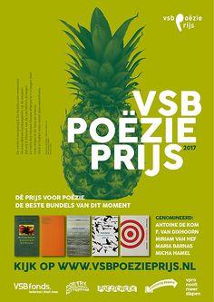 Nils Wijnstroot | Grafisch Ontwerp | VSB POËZIE PRIJS