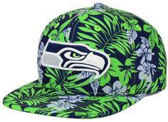 New Era Seattle Seahawks Wowie Snapback Cap