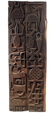 Africa Door panels from the Senufo people from southern Mali Wood century Panel Doors, Windows And Doors, Afrique Art, Motifs Textiles, African Theme, African Masks, Art Premier, Indigenous Art, African Design