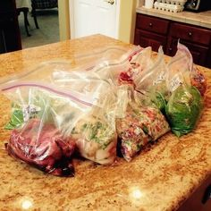 August Paleo Freezer Meals - SO nice to have these on hand!
