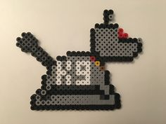 Dr. Who K-9 perler beads by Kat's Krafts