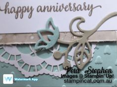 Falling In Love Flourish Thinlits Stampin Up