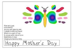 "KindergartenWorks: Freebie~ Mother's Day Handprint Poem..... See my ""Just Too Neat Not to Keep!"" Board for more ideas that go with this!!)"