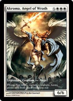 Akroma, Angel of Wrath Proxy by Strouze
