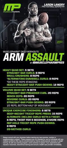 Muscle Pharm   Arms