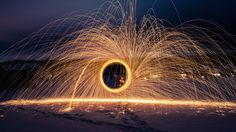 Alex explains and demonstrates the unique art of steel wool photography, which captures eye-catching, fire-like images. This is a very easy photography proje...