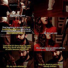 "#iZombie 1x11 ""Astroburger"" - Ravi and Peyton"