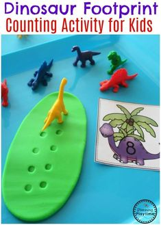Looking for fun Dinosaur Preschool Theme Activities? You will love this set of Preschool Dinosaur Centers and No-Prep Worksheets. Dinosaur Theme Preschool, Dinosaur Classroom, Preschool Themes, Preschool Lessons, Kindergarten Activities, Preschool Crafts, Toddler Activities, Math Literacy, Literacy Centers