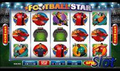 http://www.slot.uk.com/slot-games/football-star-slot/ Preview the reels in the Football Star slot game from Microgaming. #footballslot #worldcup