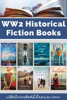 If you love WW2 historical fiction, check out these 36  fictional books about WW2. We'll share biographical WWII historical fiction, WW2 romance, and World War 2 thrillers, mysteries, suspense, and indies. Novels To Read, Best Books To Read, Book Club Books, The Book, Best Historical Fiction Books, Indie Books, Beloved Book, Fiction And Nonfiction
