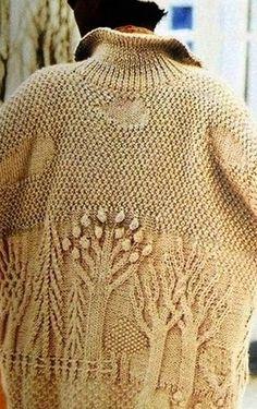 Dziana Moda: Płaskorzeźba na swetrze