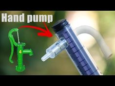 How to make a Hand pump at home using Waste materials Dollhouse Tutorials, Diy Dollhouse, Miniature Tutorials, Dollhouse Miniatures, Diy Water Pump, Vegetable Crafts, Diy Paper Christmas Tree, Craft From Waste Material, How To Make Toys