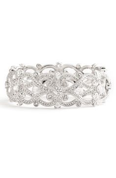 'Celtic Knot' Crystal Bangle by Nadri