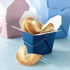 How to Make Fortune Cookies | CookingLight.com>> would be cute to put encouraging scripture inside for bridal/baby shower