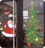 Mickaëlle Delamé: décors peints Noël