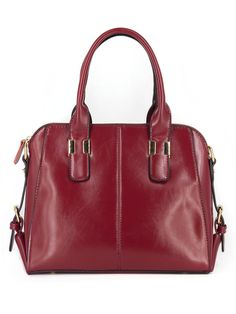 Kajie Ladies Genuine Leather Handbags Big Oil Wax Briefcase Office Women Messenger Bags Retro Real Cow Shoulder Bags For Girl Big Oil, Briefcase, Leather Handbags, Retro, Lady, Casual, Messenger Bags, Cow, Shoulder Bags