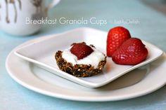 breakfast granola cups