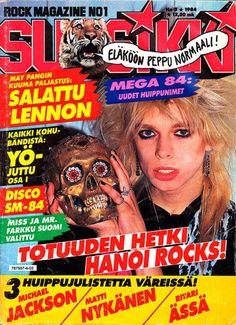 suosikki mike monroe - Google Search Hanoi Rocks, Retro Vintage, Jackson, Cover, Image, Finland, Google Search, Jackson Family