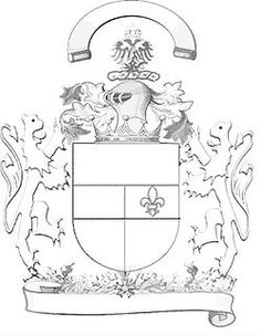 describes components of a family Heraldry Crest