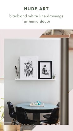 Beautiful and artistic prints where the human body, black and white ink and line art come together to show a collection full of delicacy. Perfect to express your love for art and feminity, these are prints will decorate your home with an elegant and artistic style, with the good taste of nude art and the special touch of elegance in black and white. Click to see the whole collection. Black And White Lines, White Ink, Boho Bedroom Decor, Nordic Bedroom, Gesture Drawing, Feminist Art, Watercolor And Ink, Decorating Your Home, Floating Shelves