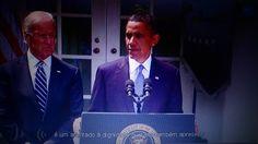 Presidente Obama fala da guerra na Síria