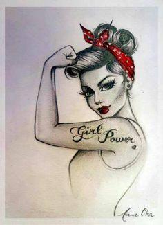 Girl Power!! #EveTorres #BelieversBoard