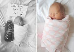 all taken in the hospital bed -- so super sweet!