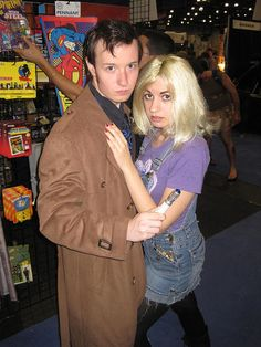 NYCC-NYAF 2010 (368) The Doctor & Rose Tyler, via Flickr.