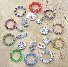 Gaming Stemware Jewelry Ten Piece Set  by KipajiPraiseJewelry