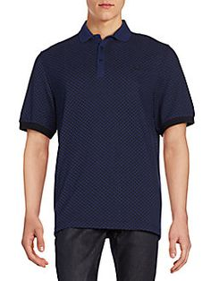 Fred Perry - Industrial Dot Cotton Polo Shirt