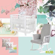 KUB Nursery (@kubnursery) • Pink and Mint nursery theme