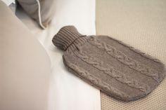 Winter warmers xx. Merino Wool hot water bottle. A little touch of luxury. http://shop.lamiabellacasa.com.au/luxury-wool/