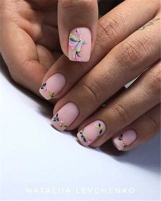 Nail art is a very popular trend these days and every woman you meet seems to have beautiful nails. It used to be that women would just go get a manicure or pedicure to get their nails trimmed and shaped with just a few coats of plain nail polish. Nail Designs Spring, Nail Art Designs, Nails Design, Design Design, Design Ideas, Matte Nails, My Nails, Nude Nails, Ongles Forts