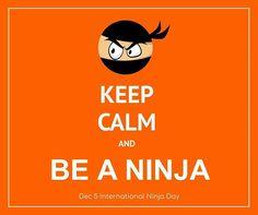 Have fun! It's #NinjaDay