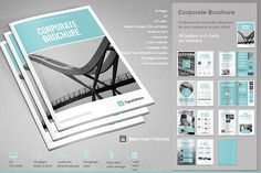Corporate Brochure By Paulnomade On Creative Market  Brochure