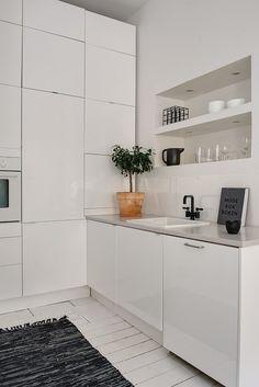 Majorsgatan 3 B, Linnéstaden Home And Deco, Beautiful Kitchens, Decoration, Bathtub, Bathroom, Closet, Inspiration, Pastel, Houses