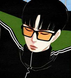 Kijoeng nam (red finger) Spirit Finger Spirit Fingers Webtoon, Manhwa Manga, Manga Comics, Anime Outfits, Art Tips, Aesthetic Art, Character Illustration, Anime Guys, Little Boys