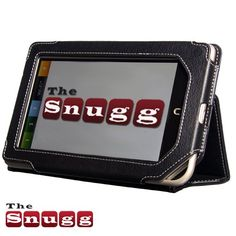 Snugg Nook Color Case and Flip Stand with Elastic Hand Strap and Premium Nubuck Fibre Interior (Black) for Barnes & Noble Nook Color Tabet - From Snugg, the Creators of the Number 1 Best Selling iPad 2 Case $29.99