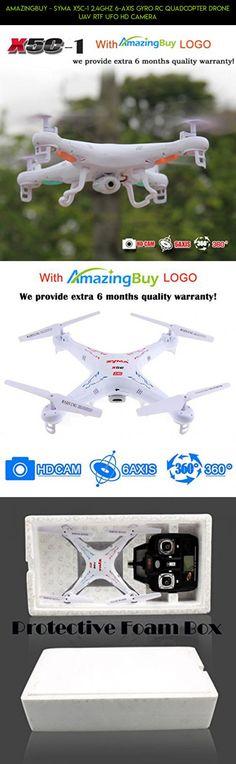 Amazingbuy - Syma X5C-1 2.4Ghz 6-Axis Gyro RC Quadcopter Drone UAV RTF UFO HD Camera #kit #drone #products #gadgets #plans #tech #technology #parts #racing #fpv #drone #ufo #shopping #syma #camera