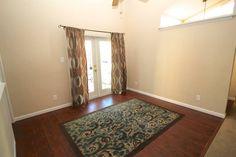 Cute curtains & rug