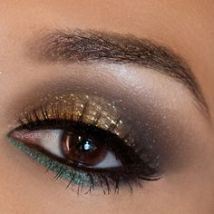 Gorgeous eye make up