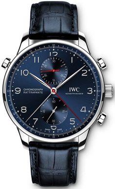 fbdd4dad157 IWC Portugieser Chronograph Rattrapante Boutique Editions — Специальные  версии сплит-хронографа