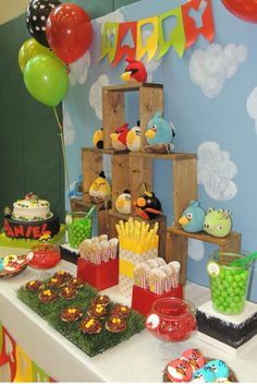 Angry Birds Birthday Party Ideas | Photo 6 of 12 | Catch My Party