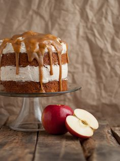 Recipe: Fresh Apple Cake with Cinnamon Whipped Frosting - this heart of mine